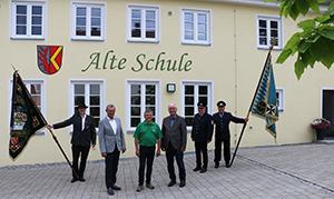 Spendenübergabe der VR-Bürgerstiftung an die evangelische Kirchengemeinde Ehringen