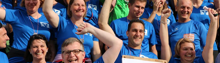 Sportlichste Hobbymannschaft - Platz 1 - Stadtlauf Nördlingen 2014