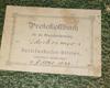 Altes Protokollbuch des Darlehenskassenvereins Ederheim