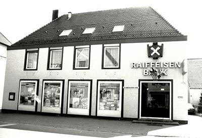 Geschäftsstelle Wallerstein 1980er-Jahre